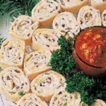 Tortilla Cream Cheese Pinwheels Roll Up Appetizer